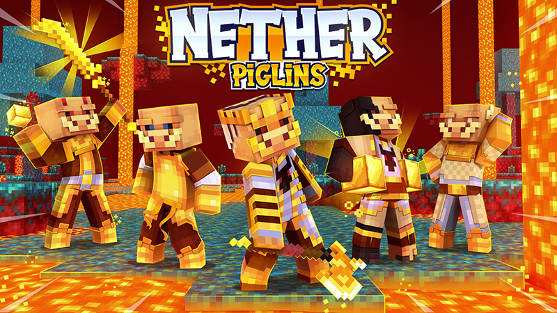 Nether Piglins on the Minecraft Marketplace by Norvale