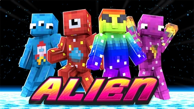 Alien on the Minecraft Marketplace by Dig Down Studios