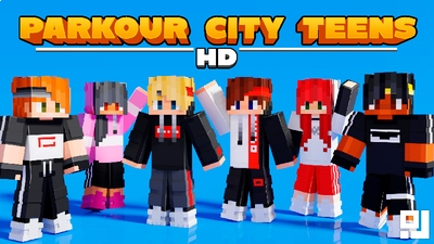 Parkour City Teens HD on the Minecraft Marketplace by inPixel
