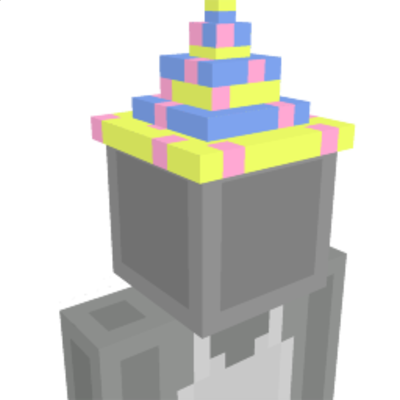 Party Hat on the Minecraft Marketplace by Giggle Block Studios