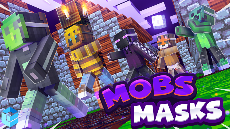 Mob Masks on the Minecraft Marketplace by Entity Builds