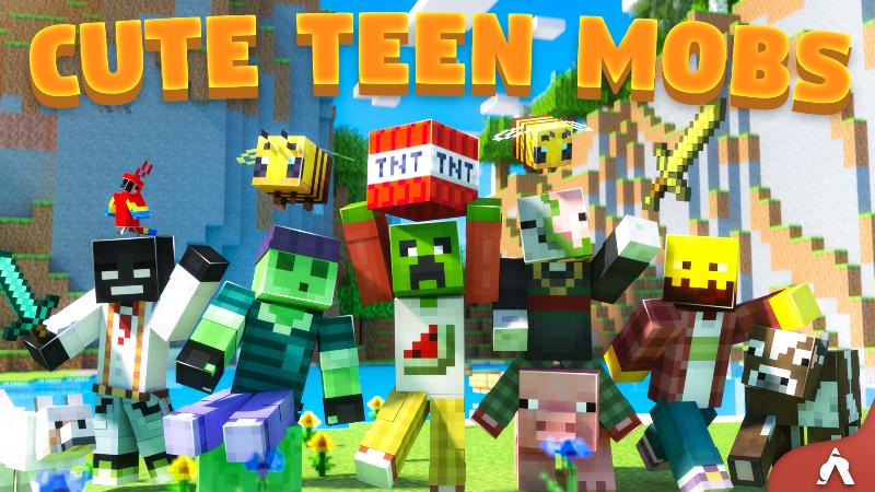 Cute Teen Mobs on the Minecraft Marketplace by Atheris Games