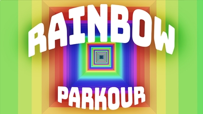 Rainbow Parkour on the Minecraft Marketplace by Tetrascape