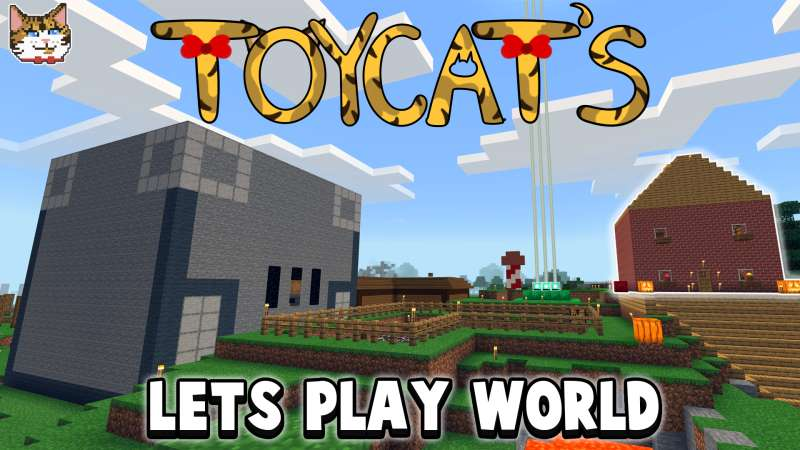 Toycats Lets Play World  on the Minecraft Marketplace by IBXToyMaps