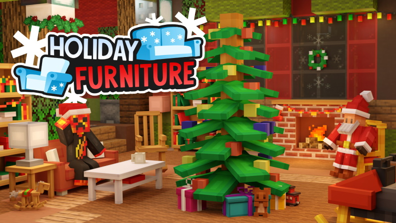 Holiday Furniture on the Minecraft Marketplace by Meatball Inc