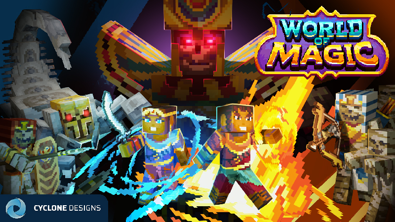 World of Magic Flame Prince on the Minecraft Marketplace by Cyclone
