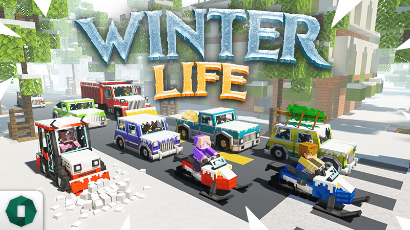 Winter Life on the Minecraft Marketplace by Octovon