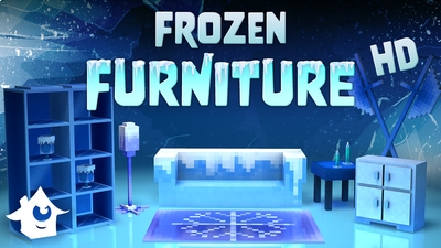 Frozen Furniture on the Minecraft Marketplace by House of How
