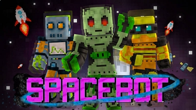 Spacebot on the Minecraft Marketplace by BLOCKLAB Studios