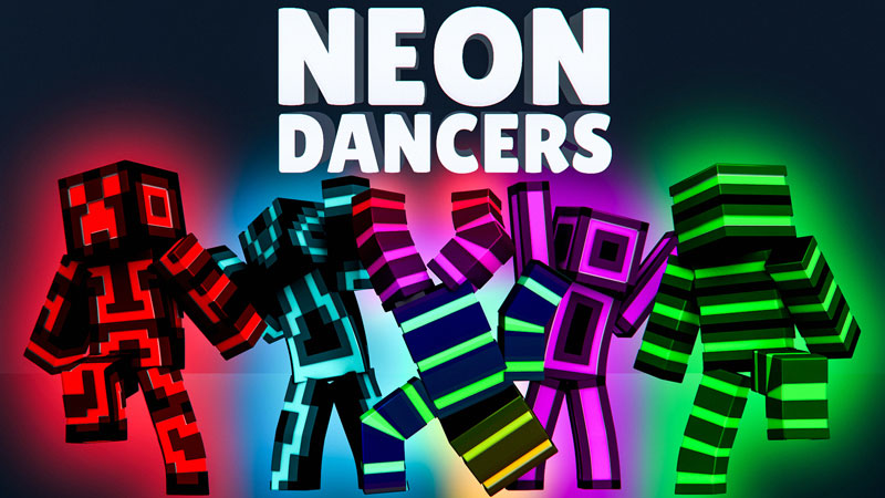 Neon Dancers on the Minecraft Marketplace by Impulse