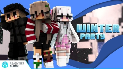 Winter Party on the Minecraft Marketplace by Ready, Set, Block!