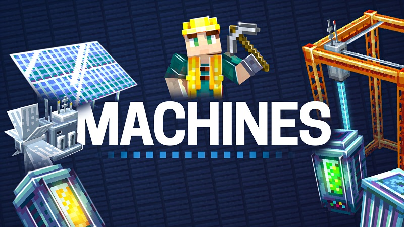 Machines on the Minecraft Marketplace by BBB Studios