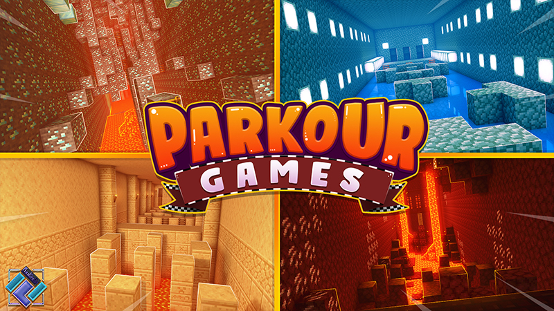 Parkour Games on the Minecraft Marketplace by PixelOneUp