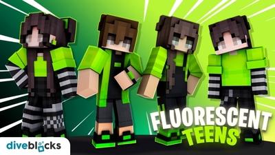 Fluorescent Teens on the Minecraft Marketplace by Diveblocks
