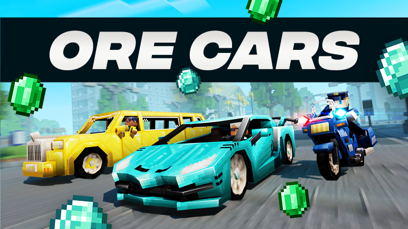 Ore Cars on the Minecraft Marketplace by Team Vaeron