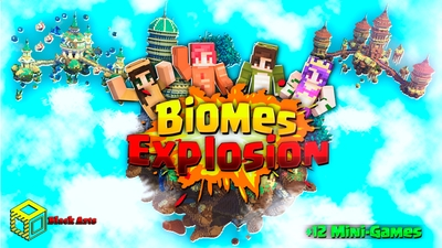 Biomes Explosion on the Minecraft Marketplace by Black Arts Studio