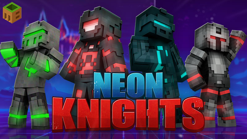 Neon Knights on the Minecraft Marketplace by MobBlocks
