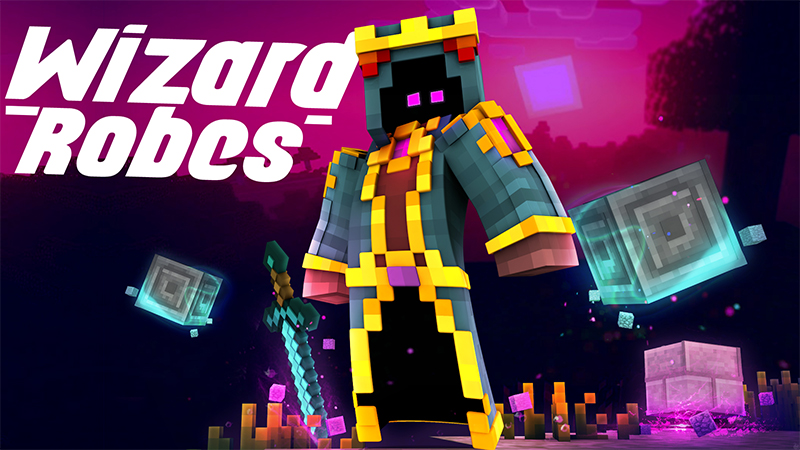 Wizard Robes on the Minecraft Marketplace by Glowfischdesigns