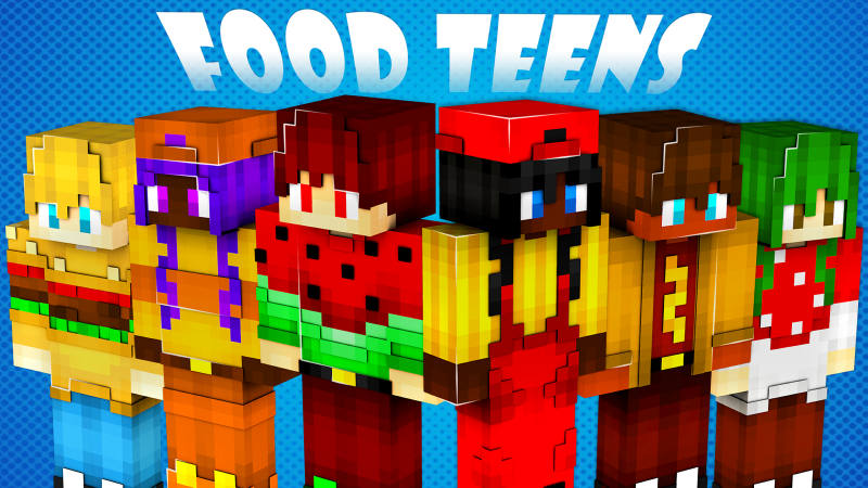 Food Teens on the Minecraft Marketplace by BLOCKLAB Studios