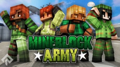 Mineblock Army on the Minecraft Marketplace by RareLoot