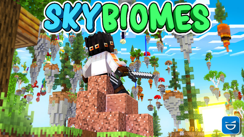 Sky Biomes on the Minecraft Marketplace by Giggle Block Studios
