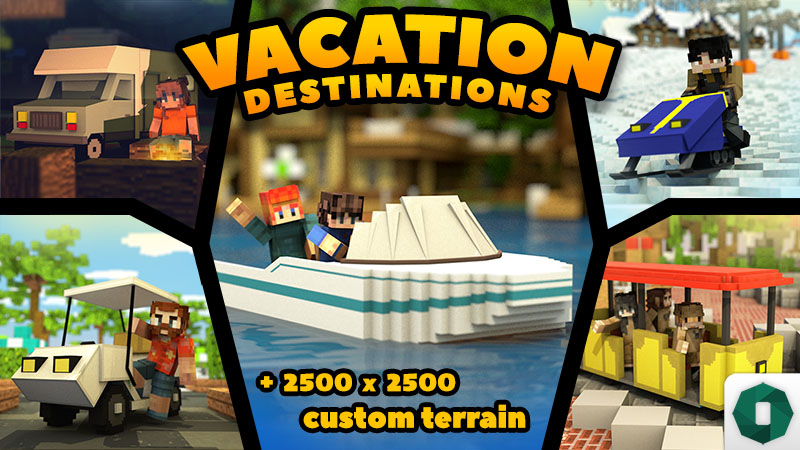 Vacation Destinations on the Minecraft Marketplace by Octovon