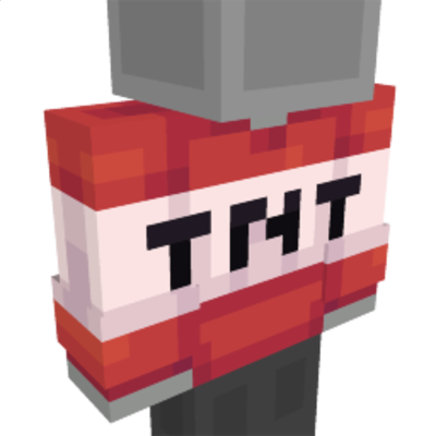 TNT Block Top on the Minecraft Marketplace by Ninja Squirrel Gaming