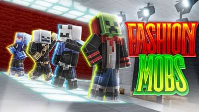 Fashion Mobs on the Minecraft Marketplace by BLOCKLAB Studios