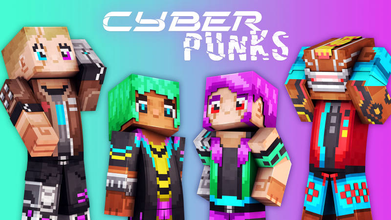 Cyber Punks on the Minecraft Marketplace by 57Digital