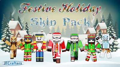 Festive Holiday Skin Pack on the Minecraft Marketplace by JFCrafters
