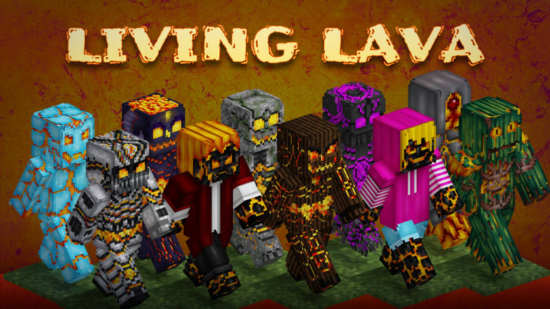 Living Lava on the Minecraft Marketplace by BLOCKLAB Studios