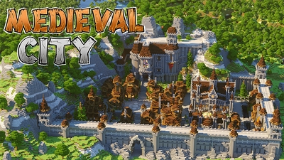 Medieval City on the Minecraft Marketplace by Diluvian