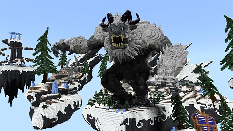 Sky Monster: Yeti by Diluvian
