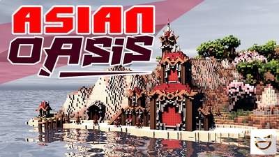 Asian Oasis on the Minecraft Marketplace by Giggle Block Studios