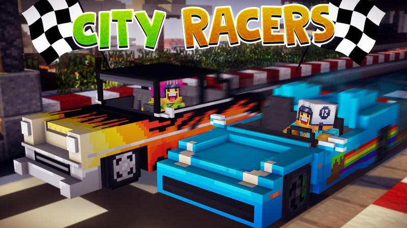 City Racers on the Minecraft Marketplace by BLOCKLAB Studios