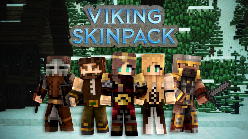 Viking Skin Pack on the Minecraft Marketplace by Impulse