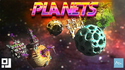 Planets on the Minecraft Marketplace by inPixel