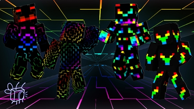 Techno Colors on the Minecraft Marketplace by Blu Shutter Bug