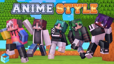 Anime Style on the Minecraft Marketplace by Entity Builds