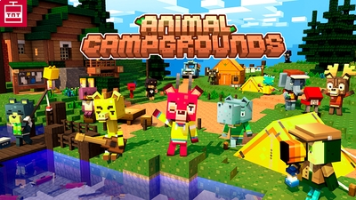 Animal Campgrounds on the Minecraft Marketplace by TNTgames