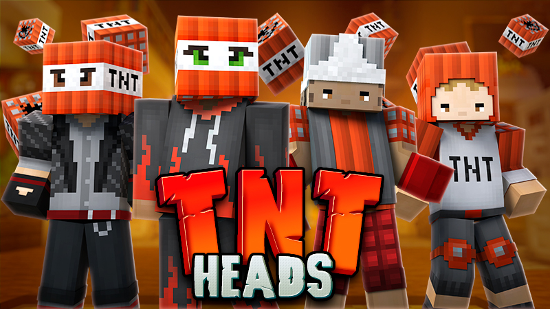 TNT Heads on the Minecraft Marketplace by GoE-Craft