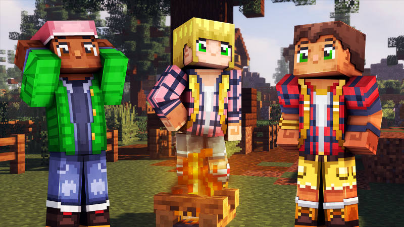 Happy Campers on the Minecraft Marketplace by 57Digital