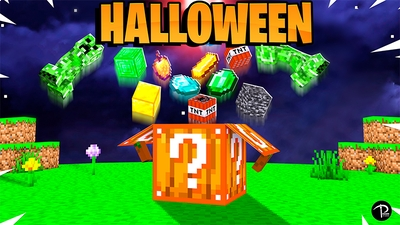 Halloween Trick or Treat Block on the Minecraft Marketplace by Pickaxe Studios