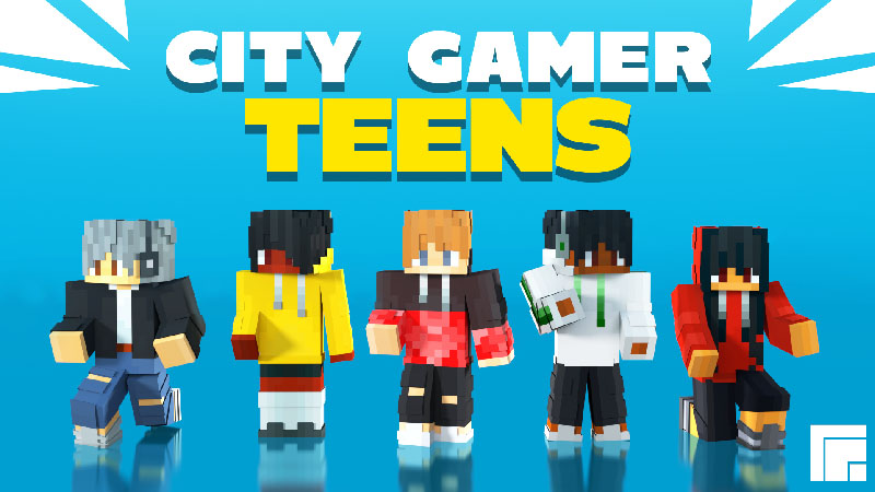 City Gamer Teens on the Minecraft Marketplace by inPixel