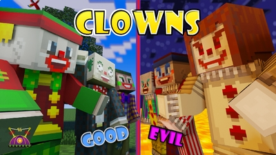 Clowns on the Minecraft Marketplace by Cleverlike