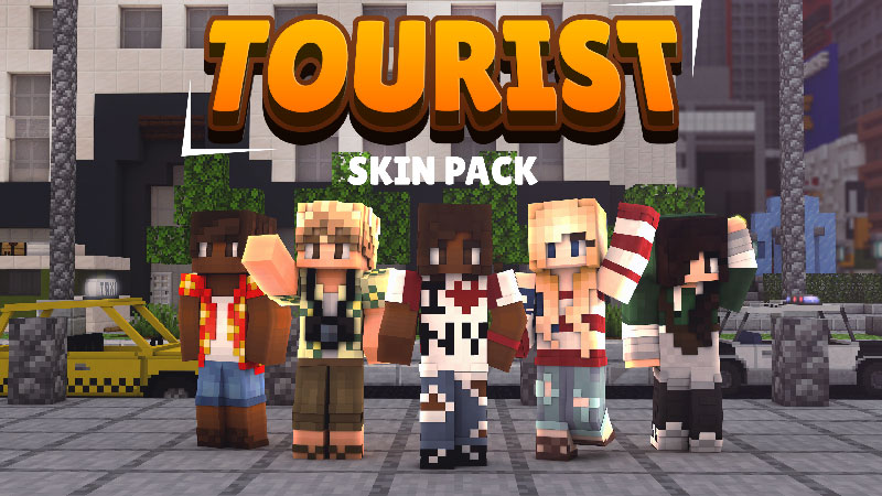 Tourist Skin Pack on the Minecraft Marketplace by Impulse