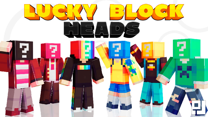 Lucky Block Heads on the Minecraft Marketplace by inPixel