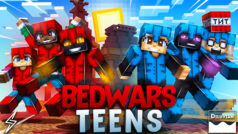 Bed Wars Teens on the Minecraft Marketplace by Diluvian