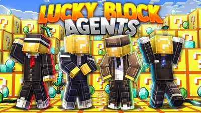 Lucky Block Agents on the Minecraft Marketplace by BLOCKLAB Studios