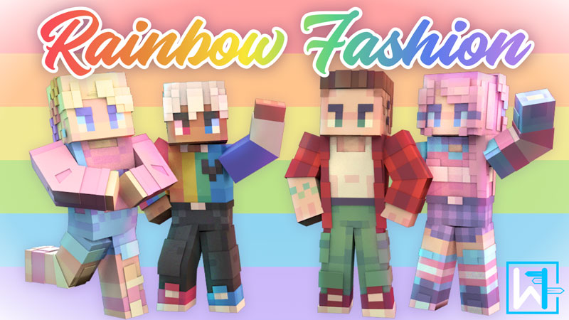 Rainbow Fashion on the Minecraft Marketplace by Waypoint Studios